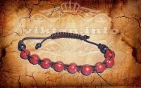 Защитный браслет из Красной Яшмы.