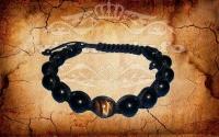 Защитный браслет Хранитель - Тигровый глаз с Турмалином Черном